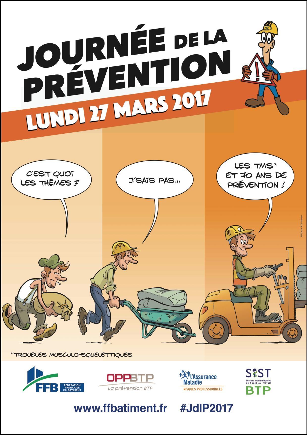 Affiche Prevention Lundi 27-03